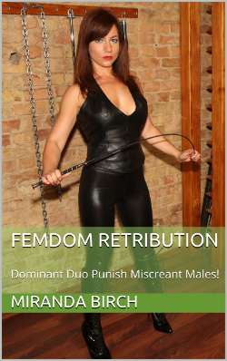 cover design for the book entitled Femdom Retribution