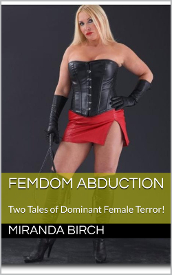 cover design for the book entitled Femdom Abduction