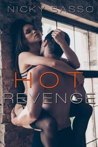cover design for the book entitled Hot Revenge