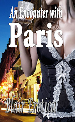 cover design for the book entitled An Encounter With Paris