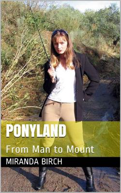 cover design for the book entitled Ponyland