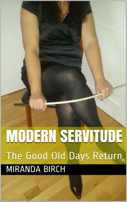 cover design for the book entitled Modern Servitude