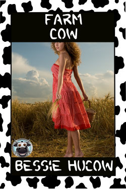 cover design for the book entitled Farm Cow