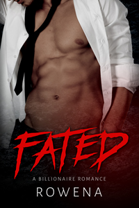 cover design for the book entitled Fated