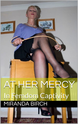 cover design for the book entitled At Her Mercy