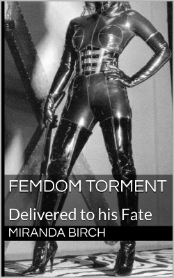 cover design for the book entitled Femdom Torment