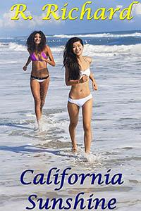 cover design for the book entitled California Sunshine