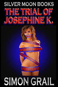 cover design for the book entitled The Trial of Josephine K.