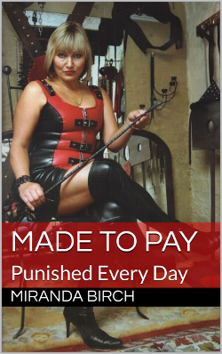 cover design for the book entitled Made To Pay