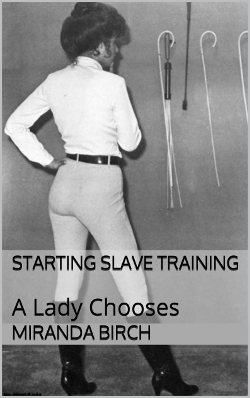 cover design for the book entitled Starting Slave Training