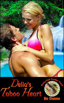 cover design for the book entitled Delia