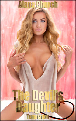 cover design for the book entitled The Devil