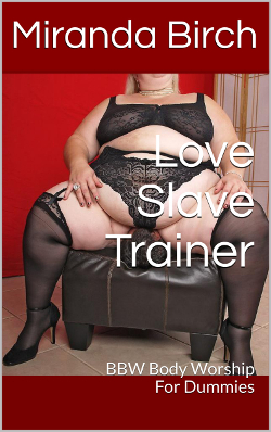 cover design for the book entitled Love Slave Trainer