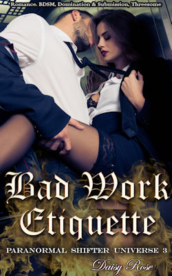 cover design for the book entitled Bad Work Etiquette