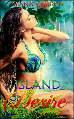 cover design for the book entitled Island of Desire