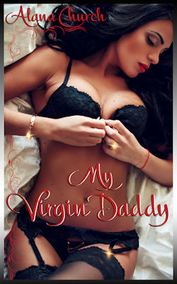 cover design for the book entitled My Virgin Daddy
