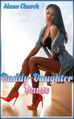 cover design for the book entitled Daddy-Daughter Dance