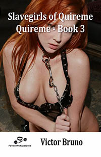 cover design for the book entitled Slavegirls of Quireme