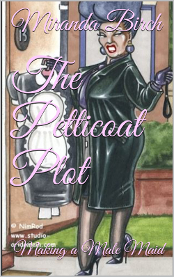 cover design for the book entitled The Petticoat Plot