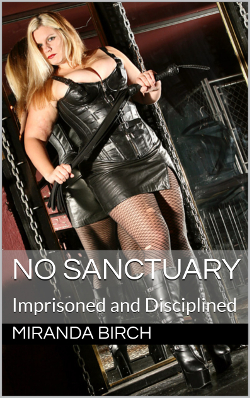 cover design for the book entitled No Sanctuary