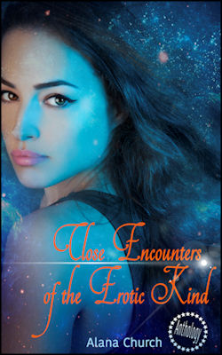 cover design for the book entitled Close Encounters Of The Erotic Kind
