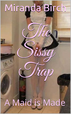 cover design for the book entitled The Sissy Trap