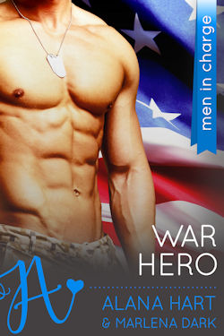 cover design for the book entitled War Hero: Men in Charge