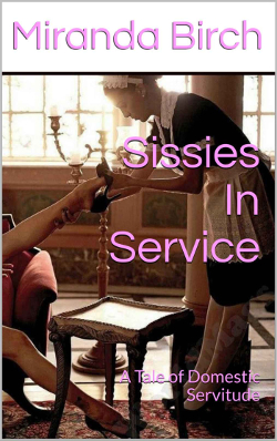 cover design for the book entitled Sissies In Service