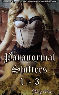 cover design for the book entitled Paranormal Shifters 1 - 3