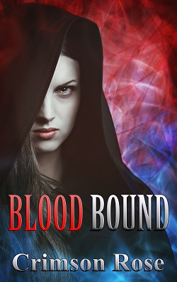 cover design for the book entitled Blood Bound