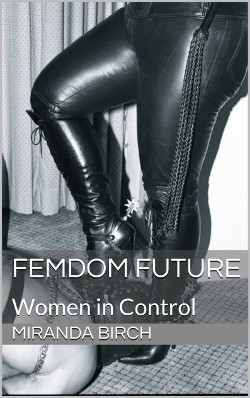 cover design for the book entitled Femdom Future