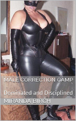 cover design for the book entitled Male Correction Camp