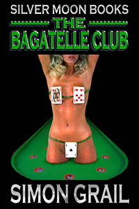 cover design for the book entitled The Bagatelle Club