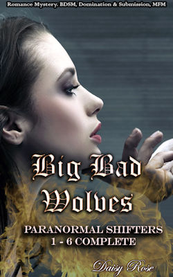cover design for the book entitled Big Bad Wolves: Paranormal Shifters 1 - 6 Complete