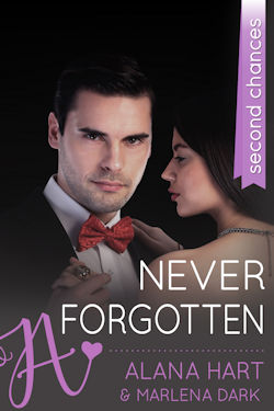 cover design for the book entitled Never Forgotten: A Second Chances Romance