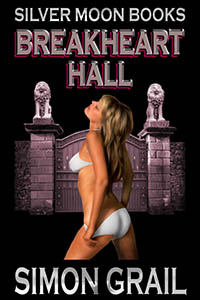 cover design for the book entitled Breakheart Hall