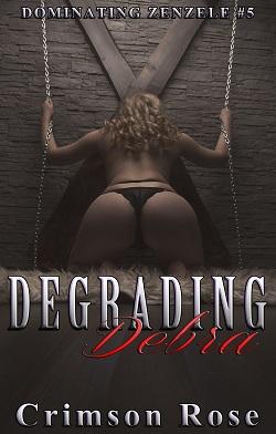 cover design for the book entitled Degrading Debra