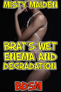 cover design for the book entitled Brat