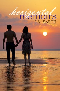 cover design for the book entitled Horizontal Memoirs