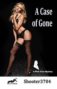 cover design for the book entitled A Case of Gone - A Nick Case Mystery