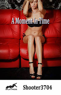 cover design for the book entitled A Moment In Time