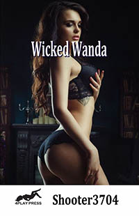 cover design for the book entitled Wicked Wanda