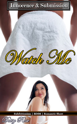 cover design for the book entitled Watch Me