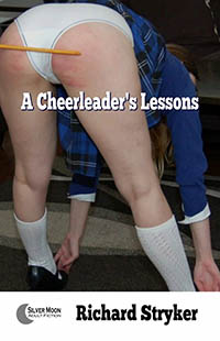 cover design for the book entitled A Cheerleader