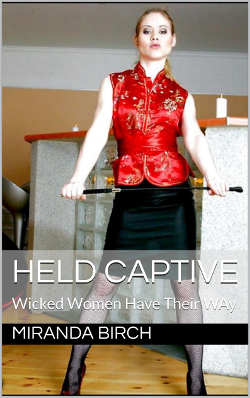 cover design for the book entitled Held Captive