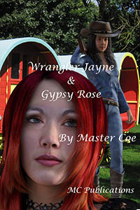 cover design for the book entitled Wrangler Jayne & Gypsy Rose
