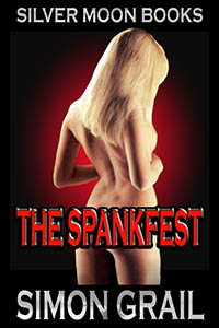 cover design for the book entitled The Spankfest