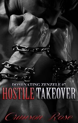 cover design for the book entitled Hostile Takeover