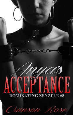 cover design for the book entitled Anya