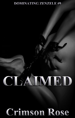 cover design for the book entitled Claimed